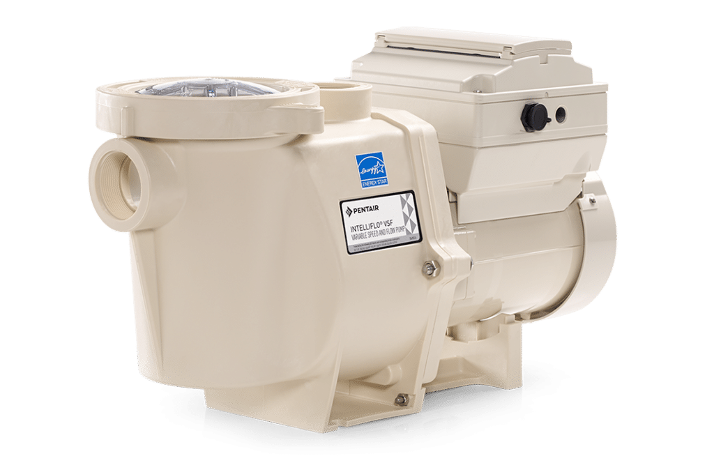A Pentair Intelliflo Variable Speed and Flow Pump