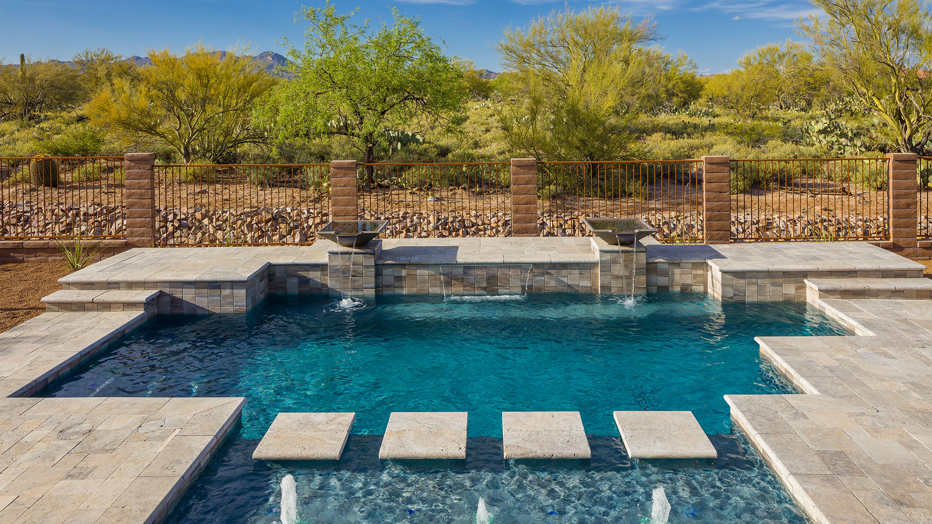 Tucson Pool Design Swimming Pool Design Tucson Pools By Design