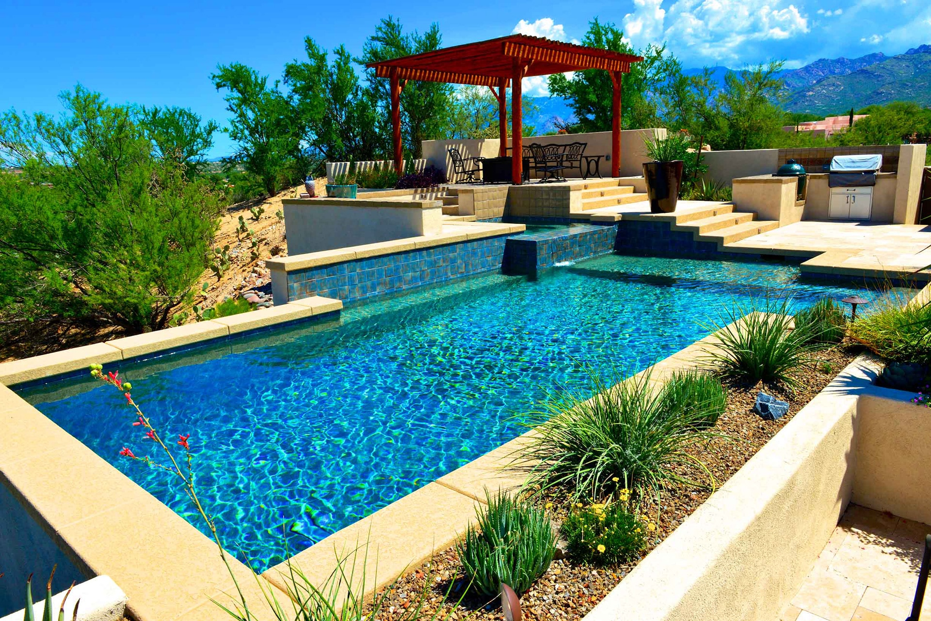 rectangle pool design
