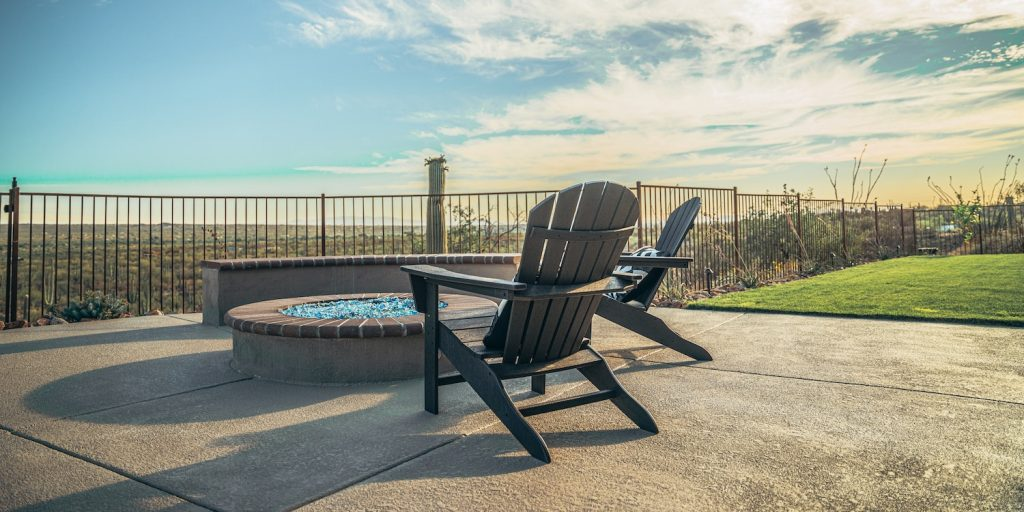 One of the beautiful Tucson outdoor living spaces we have designed